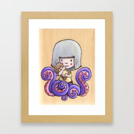 Side Show Girl Framed Art Print