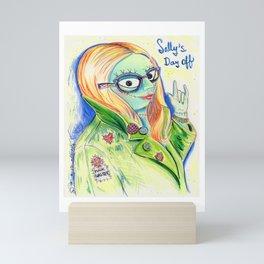 Sally's Day Off Mini Art Print