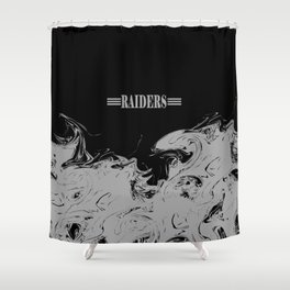 THE RAIDERS Shower Curtain