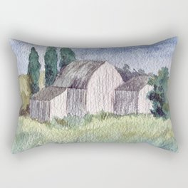 Take Me Home #watercolor Rectangular Pillow
