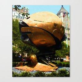 World Trade Center Globe jGibney The MUSEUM Society6 Gifts Canvas Print