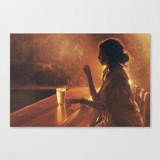 Mama In the Corner Canvas Print