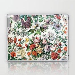 Adolphe Millot - Fleurs C - French vintage poster Laptop & iPad Skin