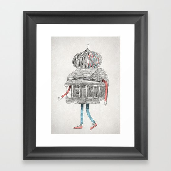 Gustaf. Framed Art Print
