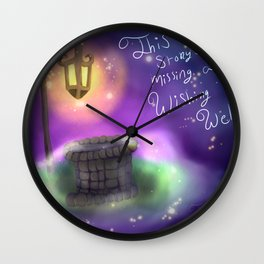 World of Creativity Series Part 1: The Missing Well Wall Clock