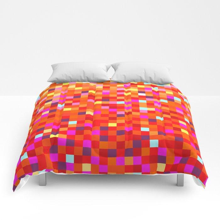 Inferno -- Pixel Art by KCS Comforters
