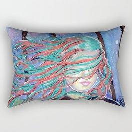 Galaxy Blind Sight Rectangular Pillow