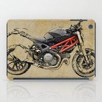 ducati iPad Cases featuring Ducati Monster 796 by Larsson Stevensem