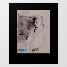 Imagination > Knowledge Art Print