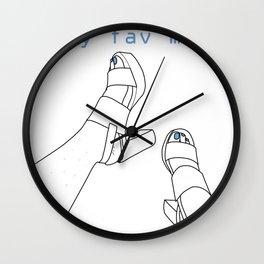 Comida Favorita Wall Clock