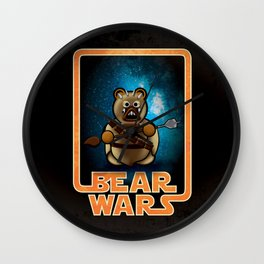 Bear Wars - Raider Wall Clock