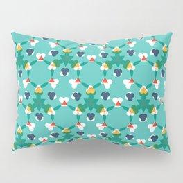 Kaleidescope aqua Pillow Sham