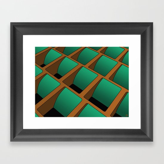 Ground Control Framed Art Print