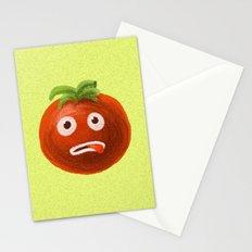 Funny Cartoon Tomato Stationery Cards