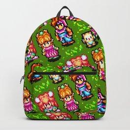 Secret of Mana sprites pattern | retrogaming nostalgia Backpack