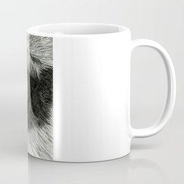 Pencil Drawing - Wolf Eye Coffee Mug