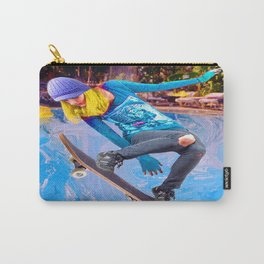 Skateboarding on Water Carry-All Pouch