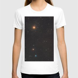 Hubble Space Telescope - Wide-field image of the ZwCl0024+1652 region (2007) T-shirt