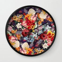 Night Forest XXIII Wall Clock