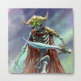 Corpse Warrior Metal Print