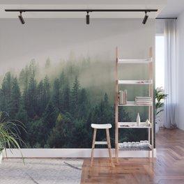 Forest Fog Wall Mural