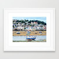 boats Framed Art Prints featuring Boats by  Alexia Miles photography