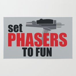 Set Phasers to Fun! Rug