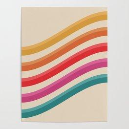 Retro - Rolling Hills #809 Poster