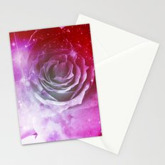 Digital Rose of Cosmos Stationery Cards