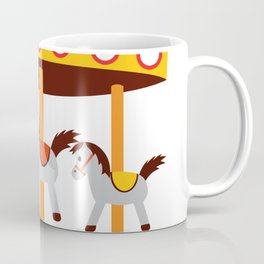 carousel amusement park Coffee Mug