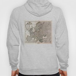 Carte d'Europe (Map of Europe) 1769 Hoody