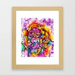 Girl!!!! BYE Framed Art Print