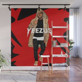 Mr. West Wall Mural