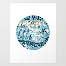 Learn to Sail Art Print