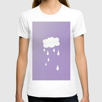 cloud T-shirts featuring Cloud by SueM