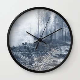 After the fire III Wall Clock