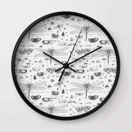 Braf insects Wall Clock