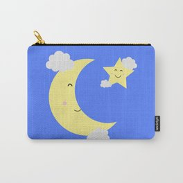 Moon and Star Carry-All Pouch