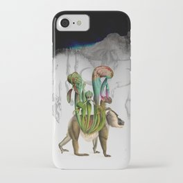 Mandrillus evolution iPhone Case
