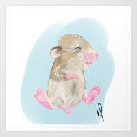Ham Art Print