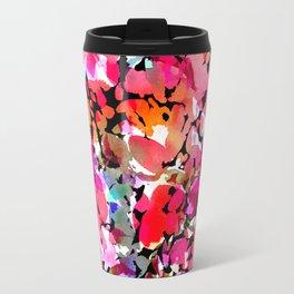 Hawaiian Batik Floral Travel Mug