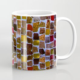 Abstract pattern in earth colors Coffee Mug
