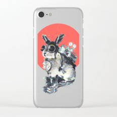 Time Traveller Clear iPhone Case