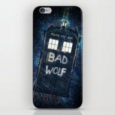 Bad Wolf TARDIS iPhone & iPod Skin
