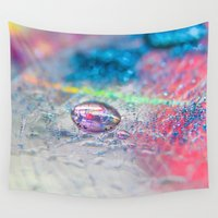 carnival Wall Tapestries featuring Carnival by Samantha Fortenberry