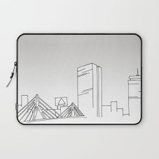 Boston Skyline Laptop Sleeve