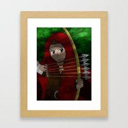 Legend of The Red Hood  Framed Art Print