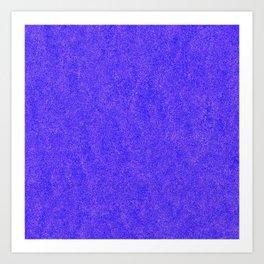 Purple Glitter Art Print
