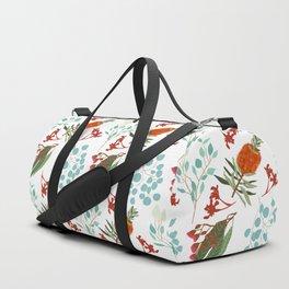 Australian Botanicals - White Duffle Bag