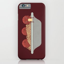 The Knitter iPhone Case